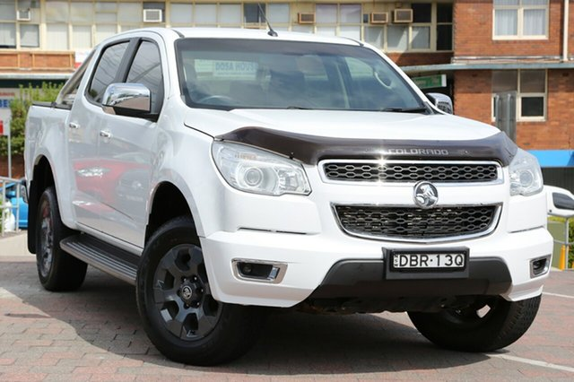 Used Holden Colorado LTZ Crew Cab, Waitara, 2016 Holden Colorado LTZ Crew Cab Utility