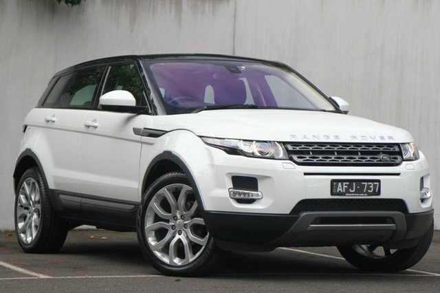 Used Land Rover Range Rover Evoque TD4 Pure Tech, Malvern, 2015 Land Rover Range Rover Evoque TD4 Pure Tech Wagon