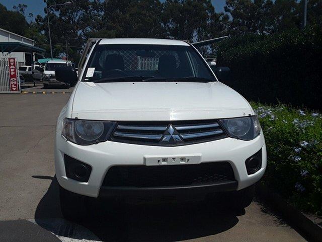 Used Mitsubishi Triton GL, Acacia Ridge, 2014 Mitsubishi Triton GL MN MY15 Cab Chassis