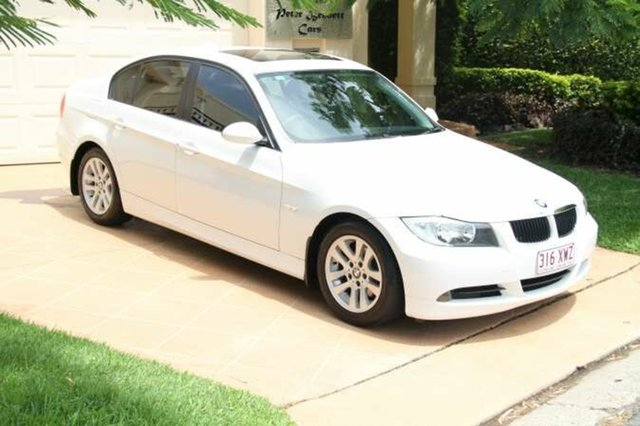Discounted Used BMW 320i Executive Steptronic, Bundall, 2007 BMW 320i Executive Steptronic E90 MY08 Sedan