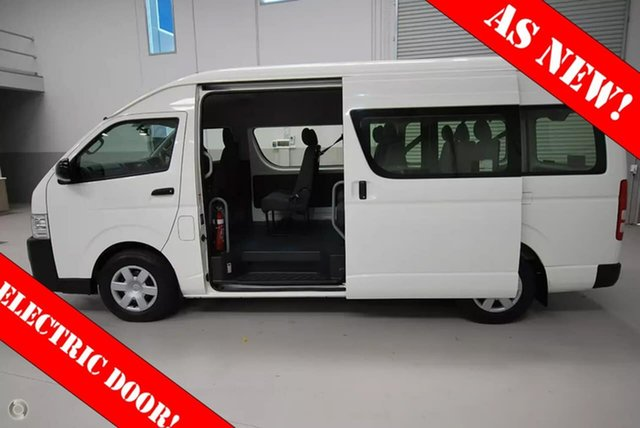 Used Toyota Hiace Commuter High Roof Super LWB, Kenwick, 2016 Toyota Hiace Commuter High Roof Super LWB Bus