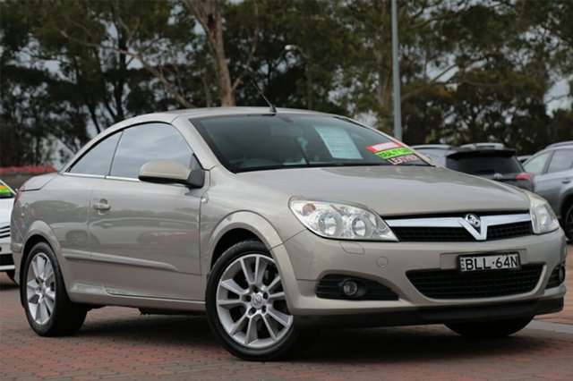 Used Holden Astra Twin TOP, Warwick Farm, 2007 Holden Astra Twin TOP Convertible