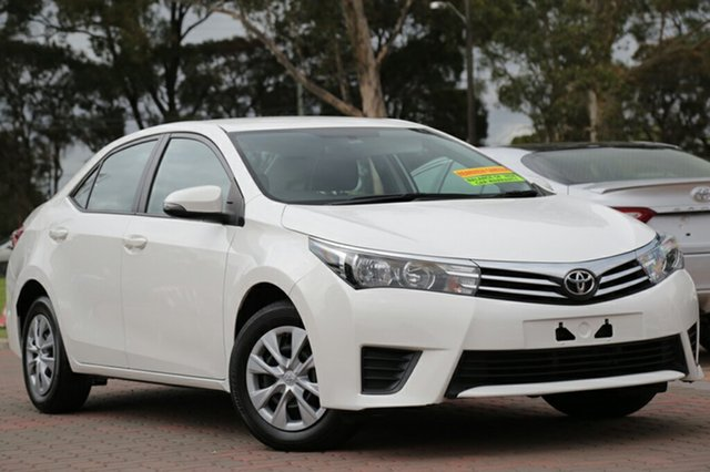 Used Toyota Corolla Ascent S-CVT, Warwick Farm, 2016 Toyota Corolla Ascent S-CVT Sedan