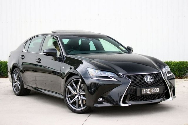 Demonstrator, Demo, Near New Lexus GS350 F Sport, Elsternwick, 2017 Lexus GS350 F Sport Sedan