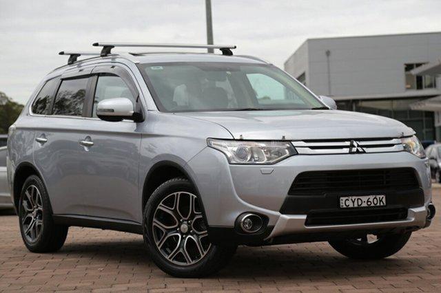 Used Mitsubishi Outlander Aspire 4WD, Warwick Farm, 2014 Mitsubishi Outlander Aspire 4WD SUV