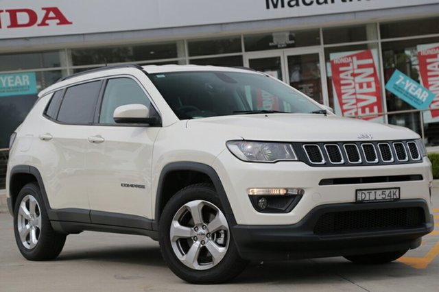 Discounted Demonstrator, Demo, Near New Jeep Compass Longitude FWD, Narellan, 2017 Jeep Compass Longitude FWD SUV
