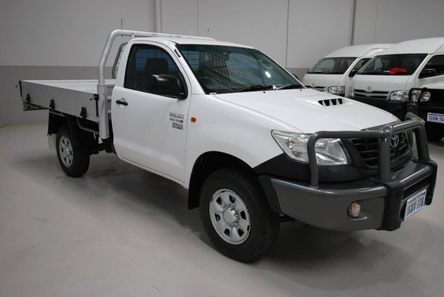 Used Toyota Hilux Workmate, Kenwick, 2012 Toyota Hilux Workmate Cab Chassis