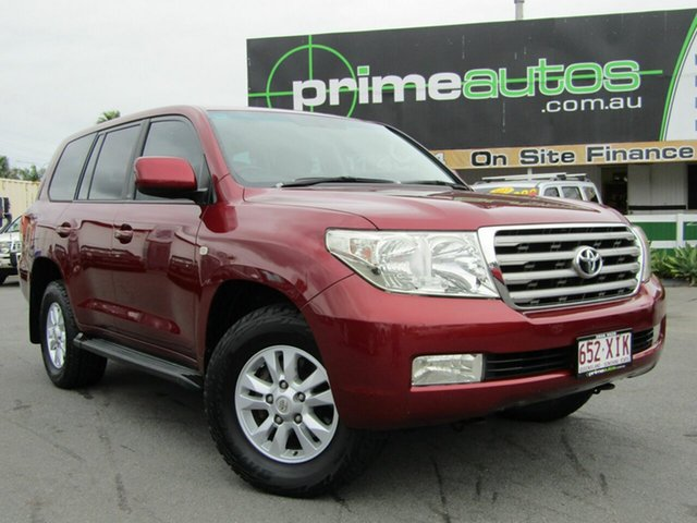 Discounted Used Toyota Landcruiser VX (4x4), Loganholme, 2008 Toyota Landcruiser VX (4x4) Wagon
