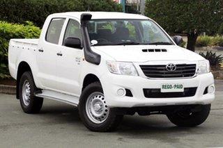 Used Toyota Hilux SR Double Cab, Acacia Ridge, 2015 Toyota Hilux SR Double Cab KUN26R MY14 Utility