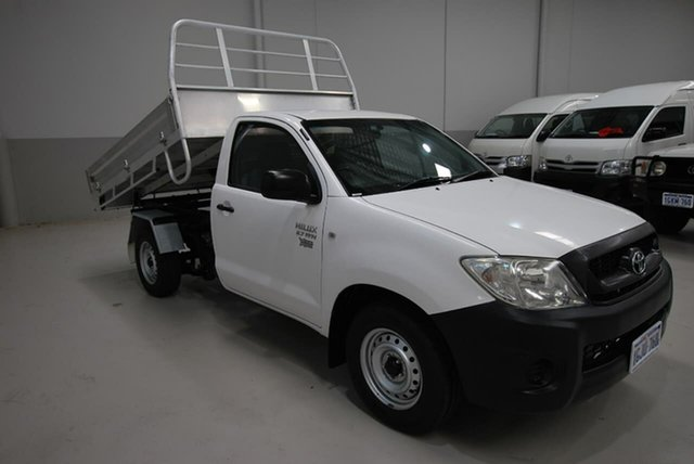 Used Toyota Hilux Workmate, Kenwick, 2010 Toyota Hilux Workmate Cab Chassis