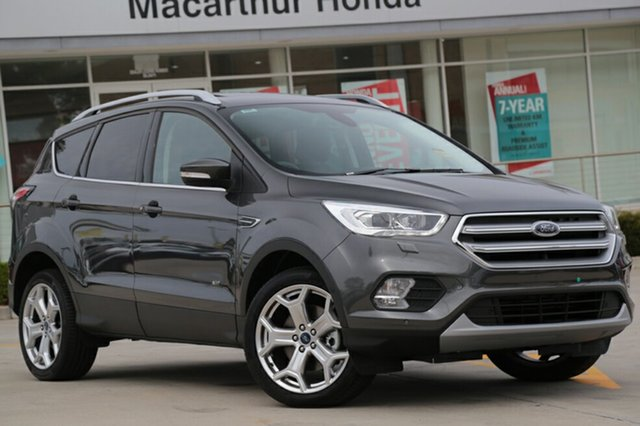 Discounted Demonstrator, Demo, Near New Ford Escape Titanium PwrShift AWD, Narellan, 2017 Ford Escape Titanium PwrShift AWD SUV