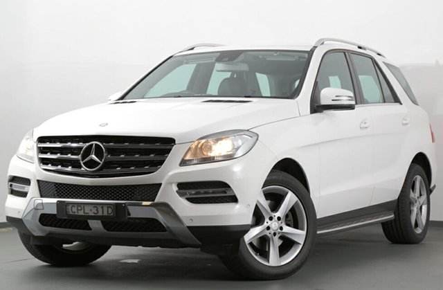 Discounted Used Mercedes-Benz ML250 BlueTEC 7G-Tronic +, Narellan, 2013 Mercedes-Benz ML250 BlueTEC 7G-Tronic + SUV