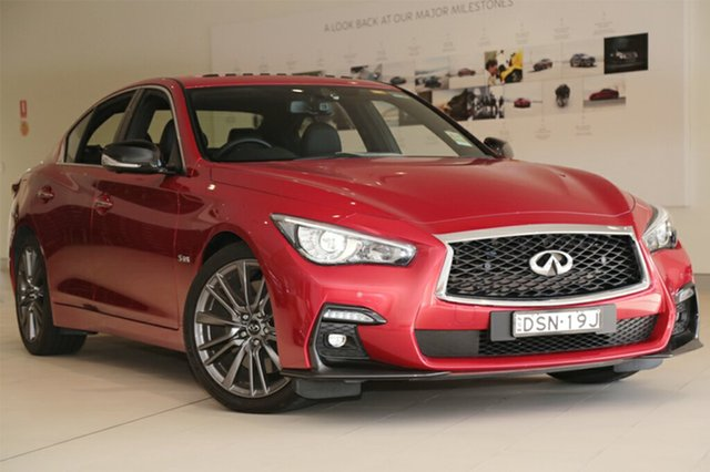 Discounted Demonstrator, Demo, Near New Infiniti Q50 3.0TT RED Sport, Southport, 2017 Infiniti Q50 3.0TT RED Sport Sedan