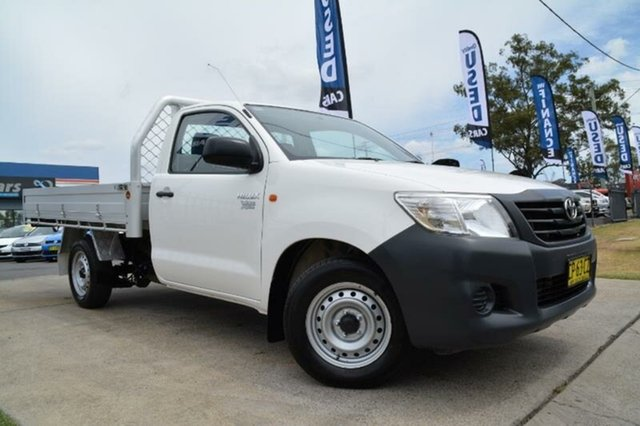 Used Toyota Hilux Workmate, Mulgrave, 2014 Toyota Hilux Workmate Cab Chassis