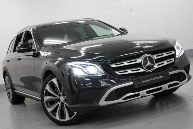 Demonstrator, Demo, Near New Mercedes-Benz E220 d All-Terrain 9G-TRONIC PLUS 4MATIC, Chatswood, 2017 Mercedes-Benz E220 d All-Terrain 9G-TRONIC PLUS 4MATIC Wagon
