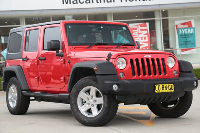 Used Jeep Wrangler Unlimited Sport, Narellan, 2015 Jeep Wrangler Unlimited Sport SUV
