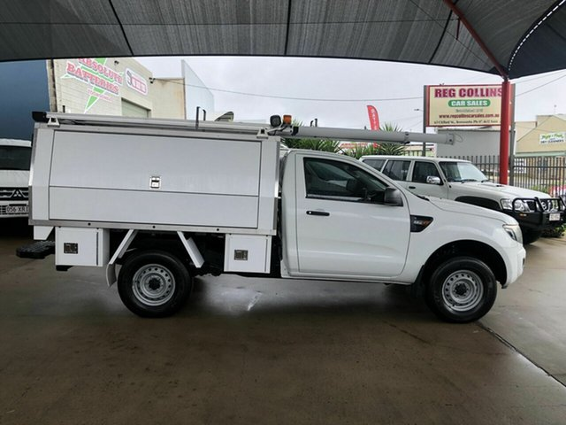 Used Ford Ranger XL 2.2 HI-Rider (4x2), Toowoomba, 2012 Ford Ranger XL 2.2 HI-Rider (4x2) Cab Chassis