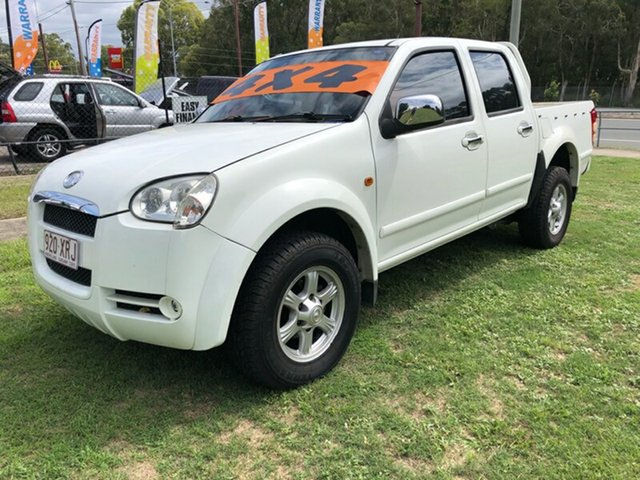 Used Great Wall V240 (4x4), Clontarf, 2009 Great Wall V240 (4x4) Dual Cab Utility