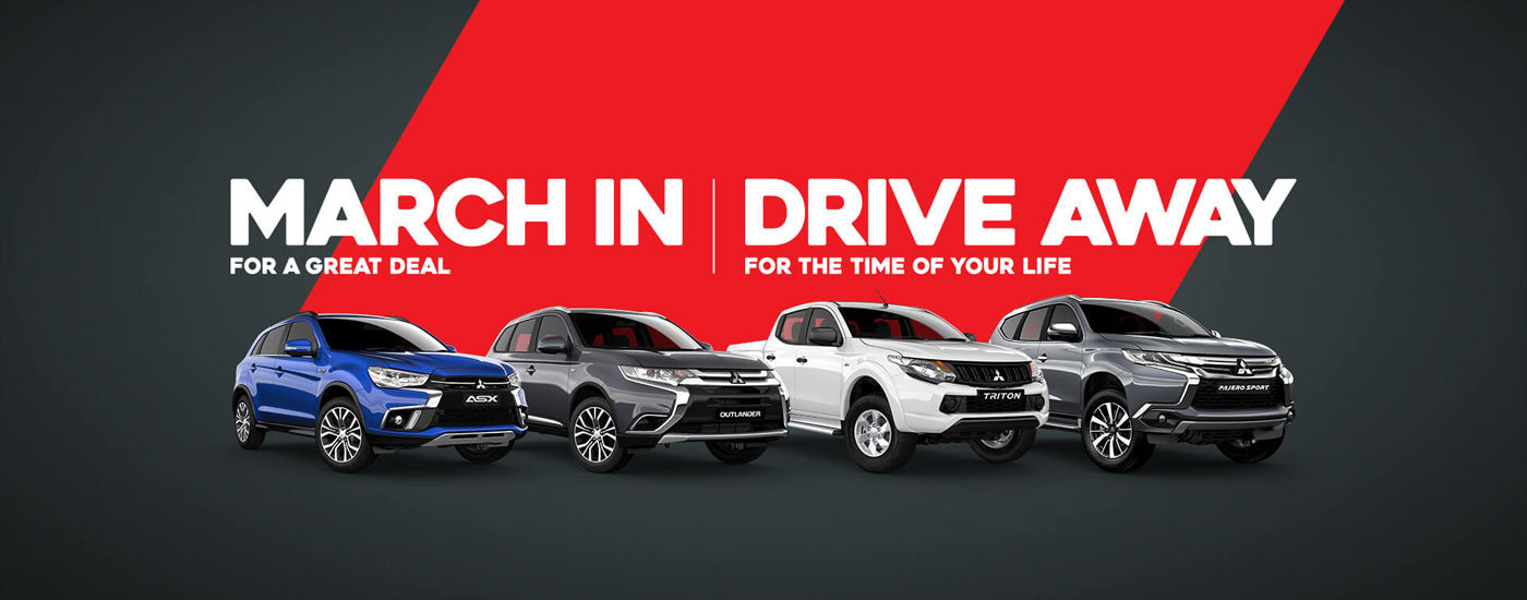 Mitsubishi - National Offer - March In | Drive Away