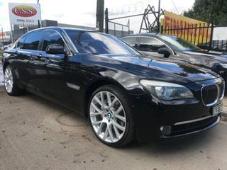 2010 BMW 740Li LWB Steptronic Sedan.