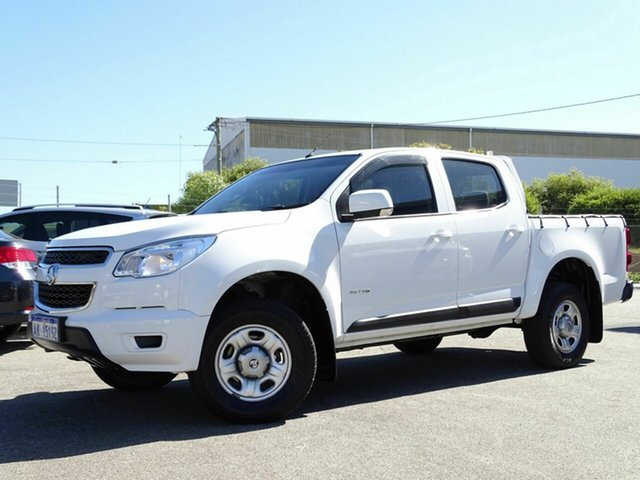 Discounted Used Holden Colorado LS Crew Cab, Welshpool, 2014 Holden Colorado LS Crew Cab Cab Chassis