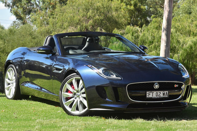 Used Jaguar F-TYPE S, Welshpool, 2013 Jaguar F-TYPE S Convertible