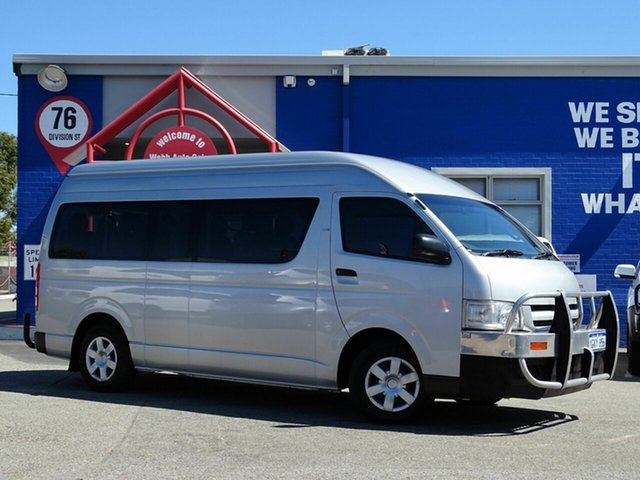 Discounted Used Toyota Hiace Commuter High Roof Super LWB, Welshpool, 2006 Toyota Hiace Commuter High Roof Super LWB Bus