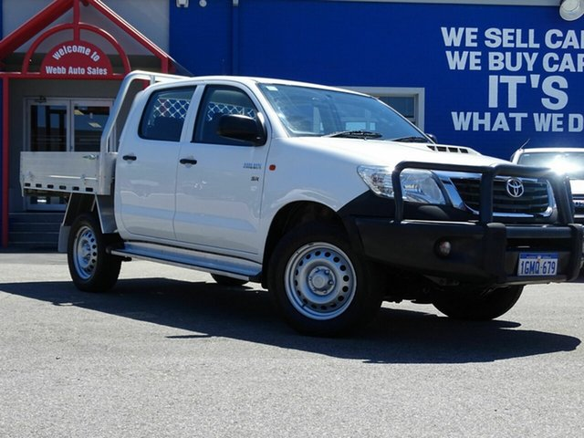 Discounted Used Toyota Hilux SR Double Cab, Welshpool, 2015 Toyota Hilux SR Double Cab Utility