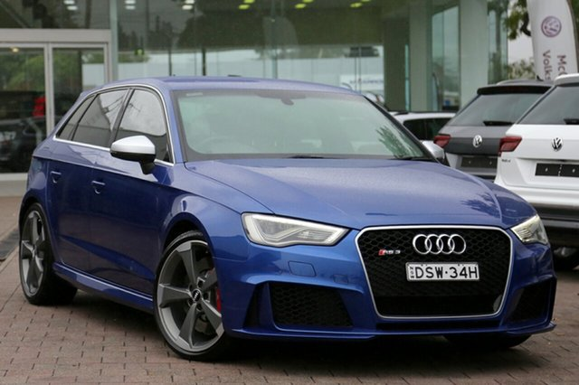 Used Audi RS 3 Sportback S tronic quattro, Waitara, 2016 Audi RS 3 Sportback S tronic quattro Hatchback