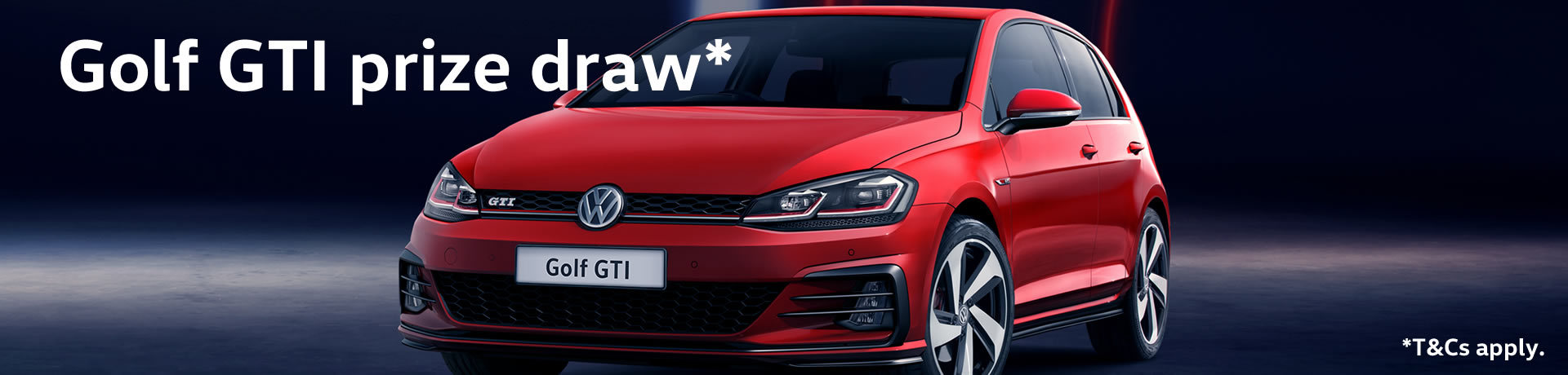 Win a Golf GTI Competition