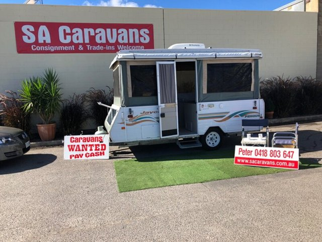 Used Jayco Penguin 13' with Air Condtioning, Klemzig, 2000 Jayco Penguin 13' with Air Condtioning Camper Trailer