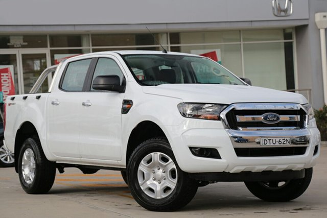 Discounted Demonstrator, Demo, Near New Ford Ranger XL Double Cab 4x2 Hi-Rider, Southport, 2017 Ford Ranger XL Double Cab 4x2 Hi-Rider Utility