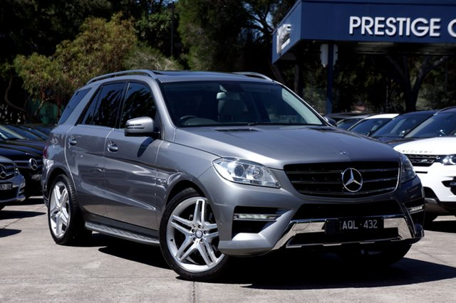 Used Mercedes-Benz ML250 BlueTEC 7G-Tronic +, Balwyn, 2012 Mercedes-Benz ML250 BlueTEC 7G-Tronic + Wagon