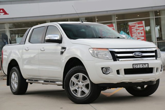 Used Ford Ranger XLT Double Cab, Narellan, 2012 Ford Ranger XLT Double Cab Utility