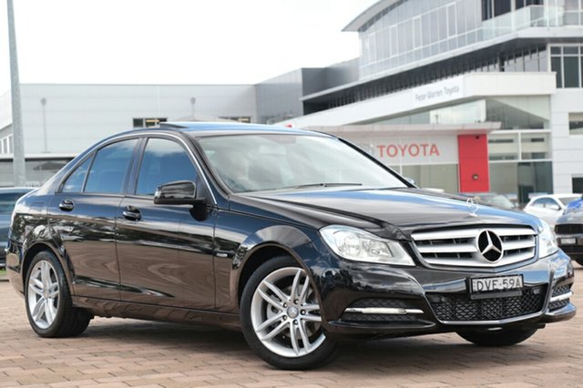 Discounted Used Mercedes-Benz C200 BlueEFFICIENCY 7G-Tronic +, Warwick Farm, 2012 Mercedes-Benz C200 BlueEFFICIENCY 7G-Tronic + Sedan