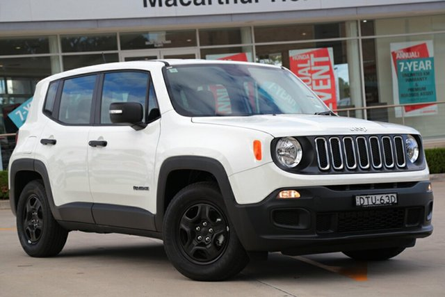 Discounted Demonstrator, Demo, Near New Jeep Renegade Sport DDCT, Southport, 2017 Jeep Renegade Sport DDCT SUV