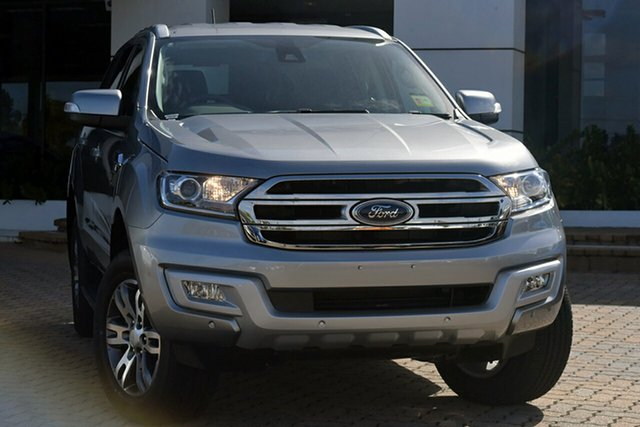 Discounted Demonstrator, Demo, Near New Ford Everest Trend RWD, Southport, 2017 Ford Everest Trend RWD SUV