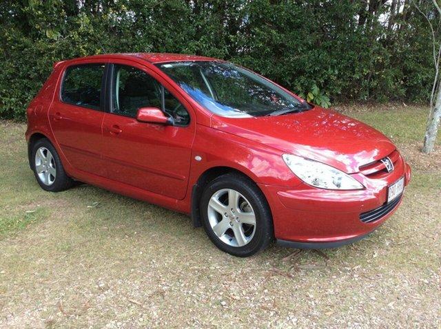 Used Peugeot 307 XSE, Nambour, 2002 Peugeot 307 XSE T5 Hatchback