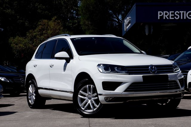 Used Volkswagen Touareg 150TDI Tiptronic 4MOTION Element, Balwyn, 2016 Volkswagen Touareg 150TDI Tiptronic 4MOTION Element Wagon