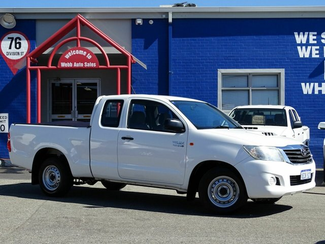 Discounted Used Toyota Hilux SR Xtra Cab, Welshpool, 2012 Toyota Hilux SR Xtra Cab Utility