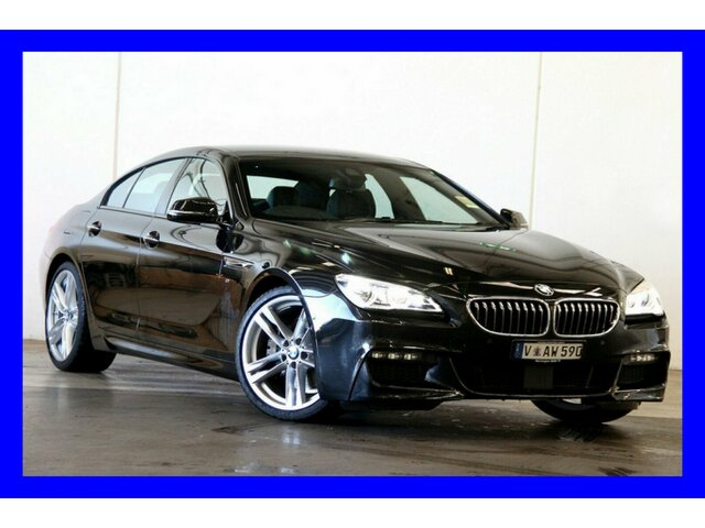 Demonstrator, Demo, Near New BMW 640d Gran Coupe Steptronic, Clayton, 2017 BMW 640d Gran Coupe Steptronic Sedan