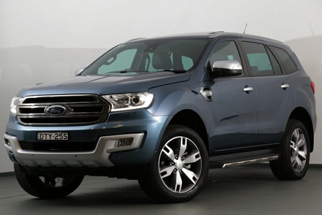 Used Ford Everest Titanium 4WD, Narellan, 2017 Ford Everest Titanium 4WD SUV