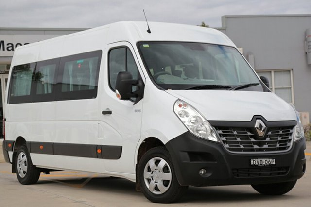 Discounted Demonstrator, Demo, Near New Renault Master Mid Roof LWB AMT, Narellan, 2017 Renault Master Mid Roof LWB AMT Bus