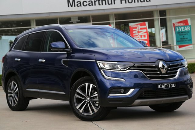 Demonstrator, Demo, Near New Renault Koleos Intens X-tronic, Narellan, 2017 Renault Koleos Intens X-tronic Wagon