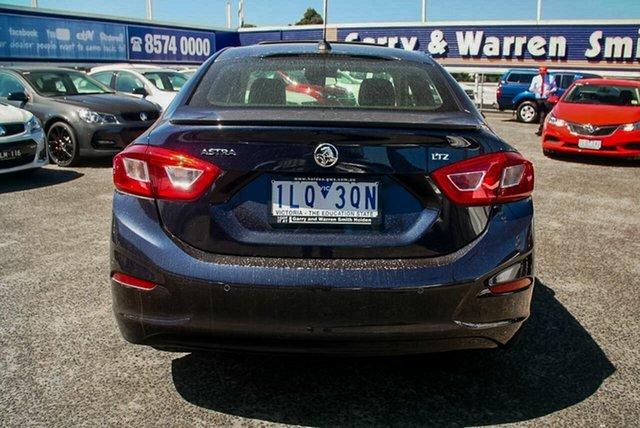 Demonstrator, Demo, Near New Holden Astra LTZ, Oakleigh, 2017 Holden Astra LTZ BL MY17 Sedan