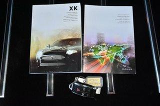 2008 Jaguar XKR Coupe.