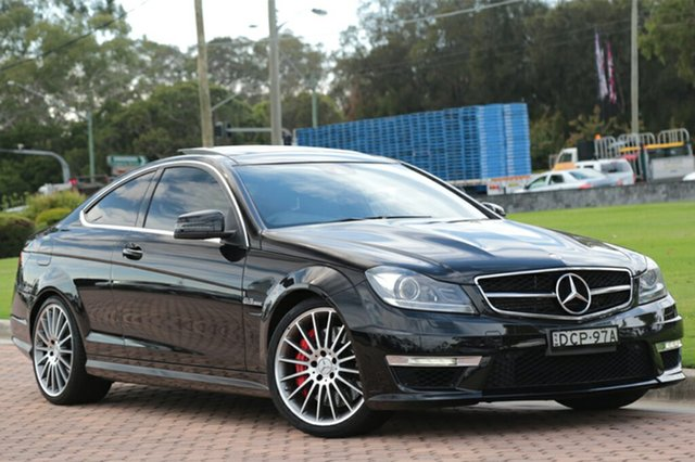 Discounted Used Mercedes-Benz C63 AMG SPEEDSHIFT MCT Performance Package, Warwick Farm, 2012 Mercedes-Benz C63 AMG SPEEDSHIFT MCT Performance Package Coupe