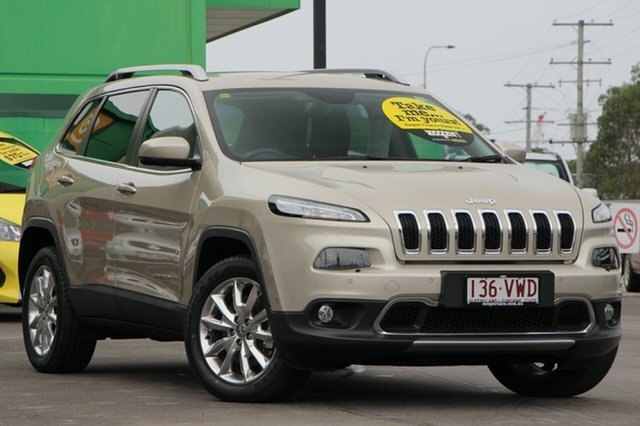 Discounted Used Jeep Cherokee Limited, Caloundra, 2015 Jeep Cherokee Limited Wagon
