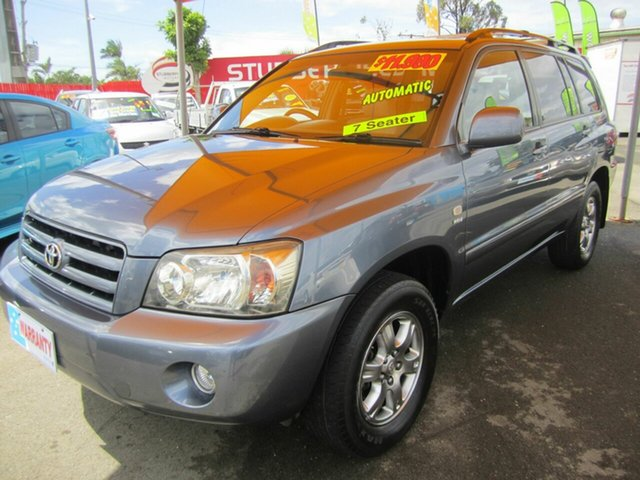 Used Toyota Kluger CV Sport, Capalaba, 2005 Toyota Kluger CV Sport Wagon