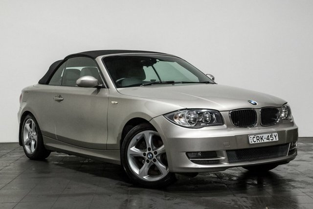 Used BMW 120i, Rozelle, 2009 BMW 120i Convertible